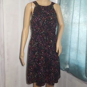 Trina Turk Silk Stars Dress